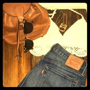 Handbags - Festival Ready >> Vintage Leather Mini Backpack 🌸